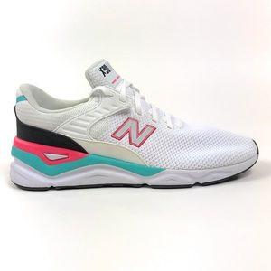 New Balance X-90 White Aqua Pink Shoes MSX90CRA